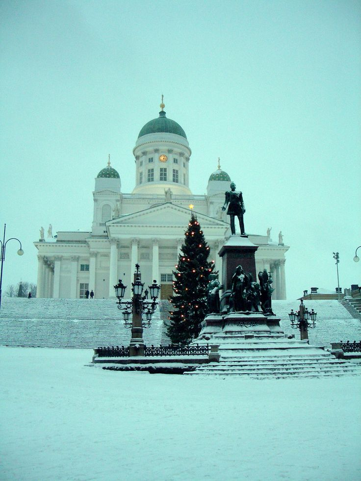 Helsinki Cathedral, Finland. A piece of my heart will always be there. <3