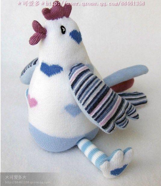 чудесные игрушки из носочек. Обсуждение на LiveInternet - Российский Сервис Онлайн-Дневников