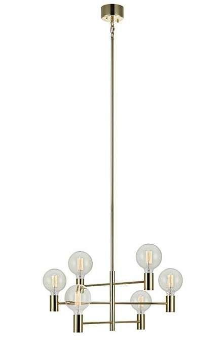 Lampa wisząca CAPITAL z chromowanym wykończeniem doskonale rozświetli każdy nowoczesny salon. #mlamp #oświetlenie #lampa #zwis #design #wystrój #wnętrz #chrom #salon
