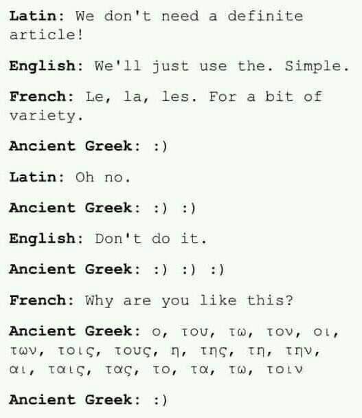 Greek Language Ancient Greek Quotes Greek Language Greek Memes