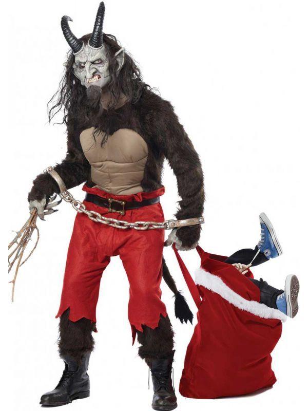 Krampus the Christmas Demon Men\u0027s Deluxe Costume in 2018 Krampus