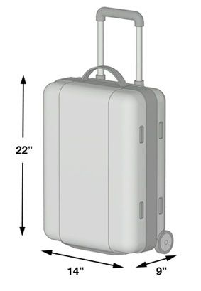 Carry On Bag Size & What to Pack in a Carry On - Peanuts or Pretzels
