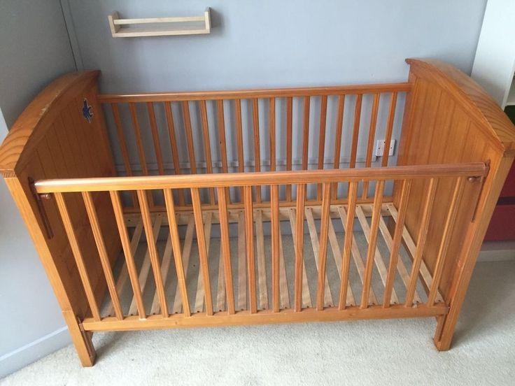Cosatto wooden cot bed 70 x 140cm no mattress  | eBay