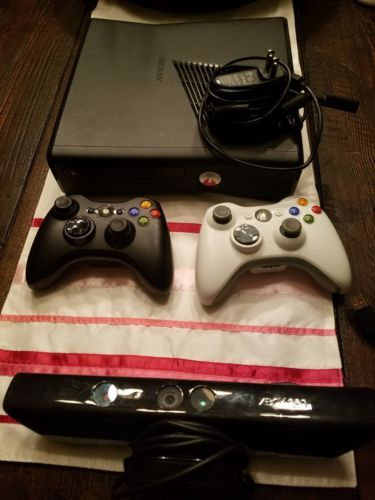 xbox 360 console, 2x controllers, Kinect Connect: $50.00 (0 Bids) End Date: Friday Mar-16-2018 17:16:21 PDT Bid now | Add to watch list