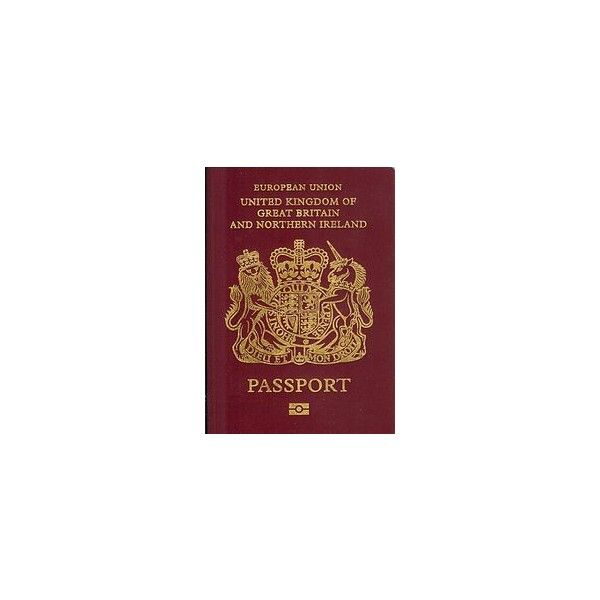 British passport ❤ liked on Polyvore featuring fillers, accessories, extra, fillers - red, red fillers and magazine