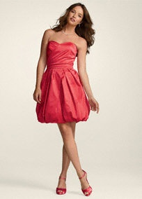 Love the color of this bridesmaid dress!