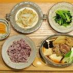 肉豆腐の夕ご飯