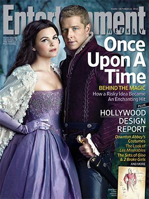 Once Upon a Time on the cover of Entertainment Weekly! I wanted this one missed it, need to start getting this every week!