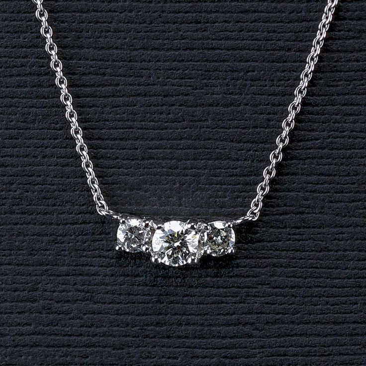 Three Stone Diamond Pendant                                                                                                                                                                                 More