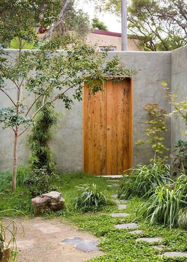 "afotw: "" Furniture designer Jonathan West's garden in Sydney, Australia, photographed by Daniel Shipp for The Design Files. """