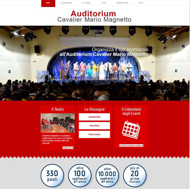 Sito web realizzato per il teatro Magnetto di Almese. http://www.teatromagnetto.it