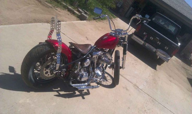 Used 2006 Custom CHOPPER Motorcycles For Sale in California,CA. No frills custom bobber! Just straight up fast!Paughco rigid frame, S&S Shovelhead 93 cubic inch crate motor solid lifters and cam ,S&S carb ,pm controls, evolution 6 speed trans , custom paint and pin striped with a new rear tire.
