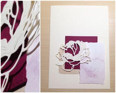 Card Creations by Ellis van Veenendaal: Blumengruß...