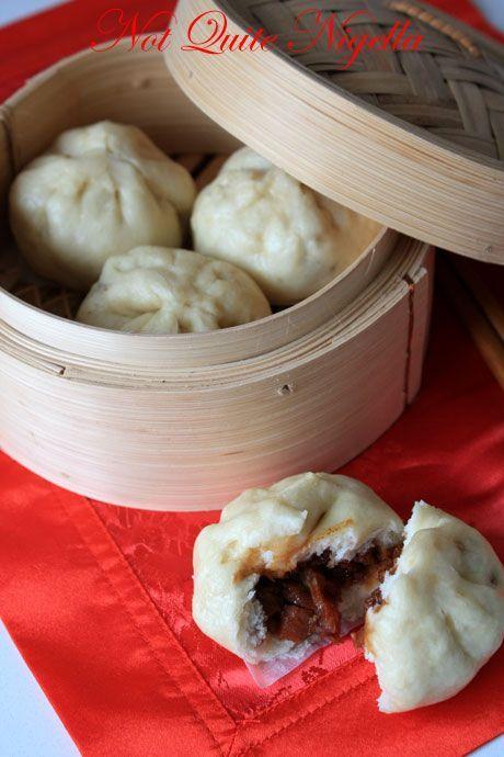 Hong Kong Style BBQ Pork Buns - Char Siu Bao @ Not Quite Nigella