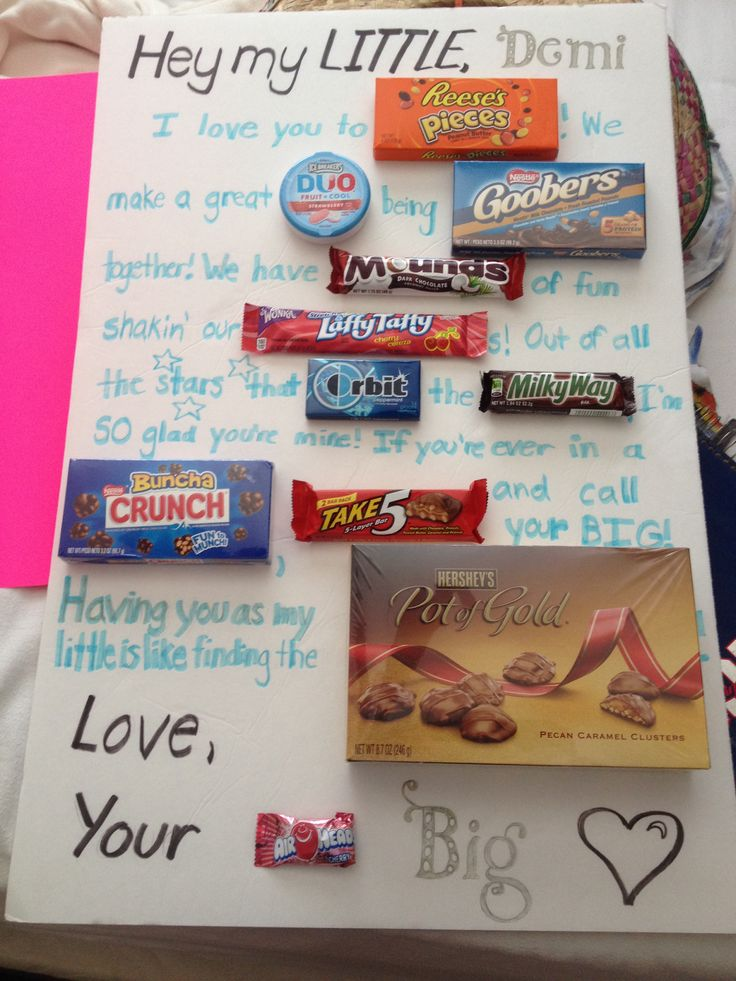 Candy board for my little!