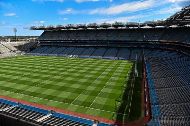 Croke park Today for hurling final Galway v Kilkenny. Come on Galway.