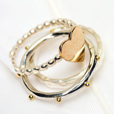 Palas Fine rings (set of 3)