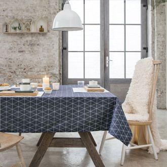 Nappe carrée coton/polyester par Kaligrafik #nappe #cuisine #déco #mer