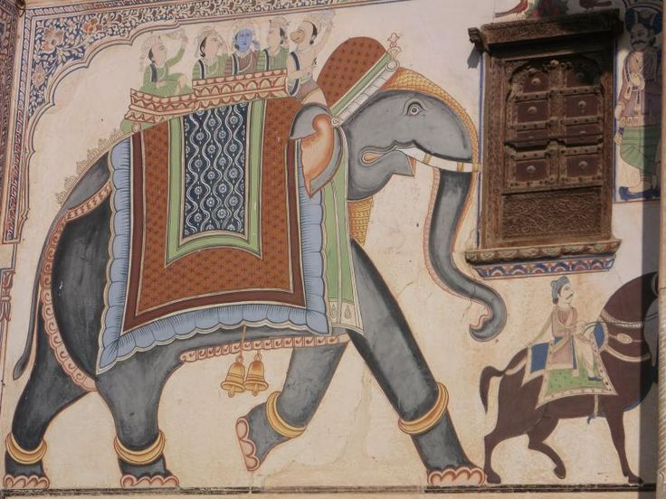 ユーラシア旅行社で行くインド ラジャスタンの旅 壁画で有名なマンダワも訪問します