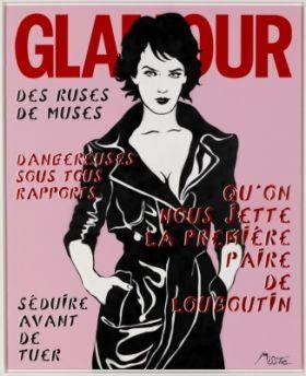 Glamour, tirage pigmentaire sur papier Fine Art Etch