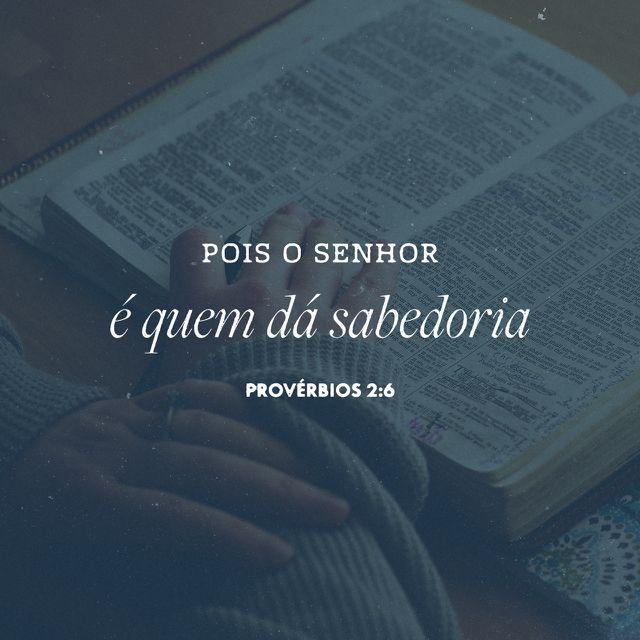 Provérbios 2:6