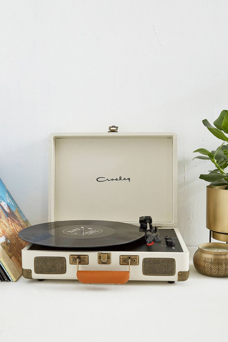 Shop Crosley Cruiser Pebbled Cream Vinyl Record Player at Urban Outfitters today. We carry all the latest styles, colours and brands for you to choose from right here.
