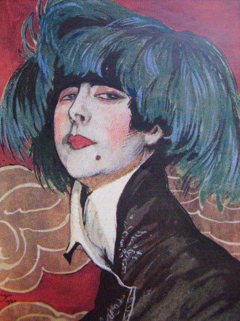 Les chapeaux Domergue et Clément Marot Galeries Lafayette Buvard et Illustration