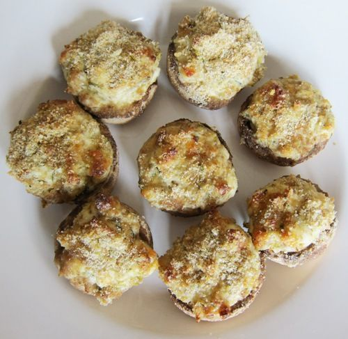 Easy Stuffed Mushrooms Recipe | Yummm | Pinterest