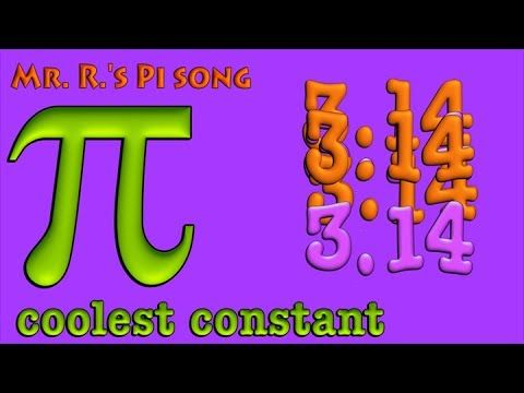 Pi Song- a fun one for pi day!  ***BEST***