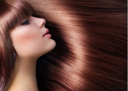 Soft shiny hair