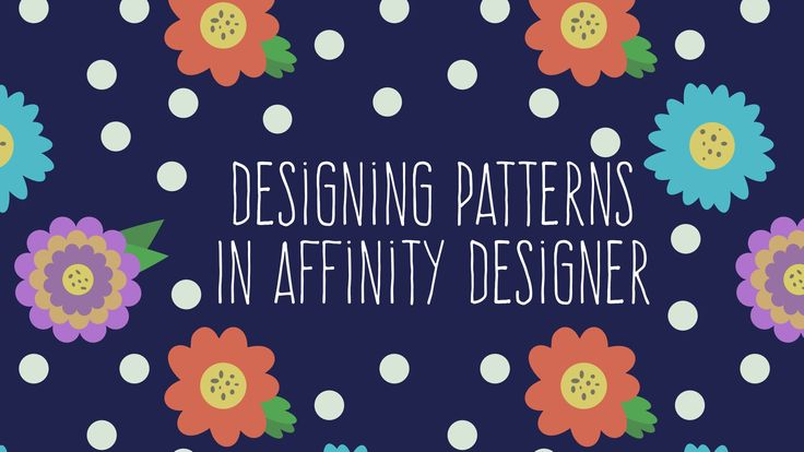 In this class you will learn how to create simple and more complex patterns in Affinity Designer. At the end of the class I share how I use a template to show...