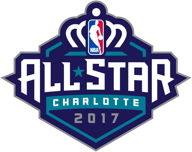 NBA All-Star Game Unused Logo (2017) - Original logo for the 2017 NBA All-Star Game when it was being held in Charlotte, NC. Game was relocated to New Orleans.
