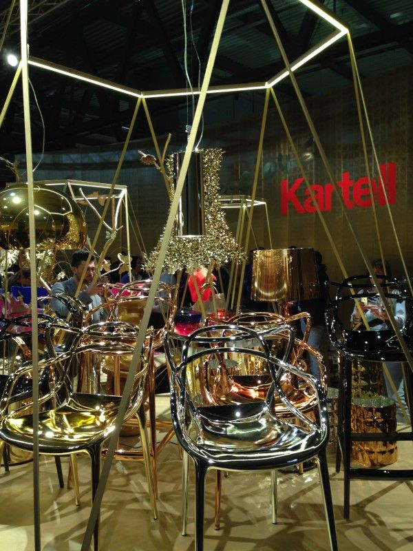 Kartell (gold furnishings) – iSaloni 2014