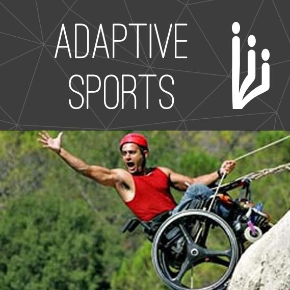 Adaptive sports for wheelchair users and others with disabilities