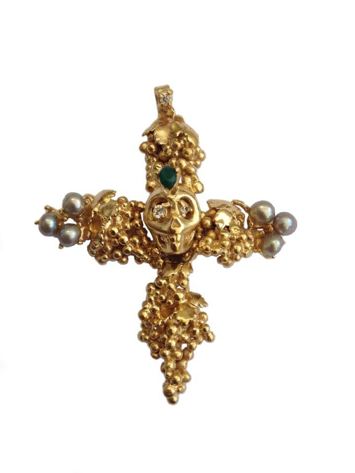 Carolina Curado Baco is Dead Necklace www.carolinacurad...