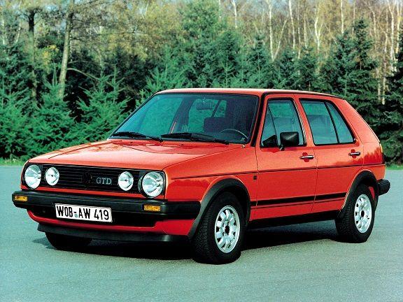 Volkswagen Golf II 1.6 GTD 1987