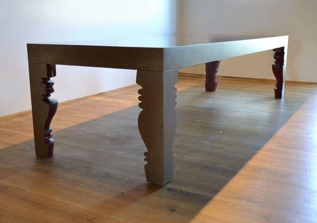 tisch sto32 barock spanplatten surface of time pinterest barock tisch und m bel. Black Bedroom Furniture Sets. Home Design Ideas
