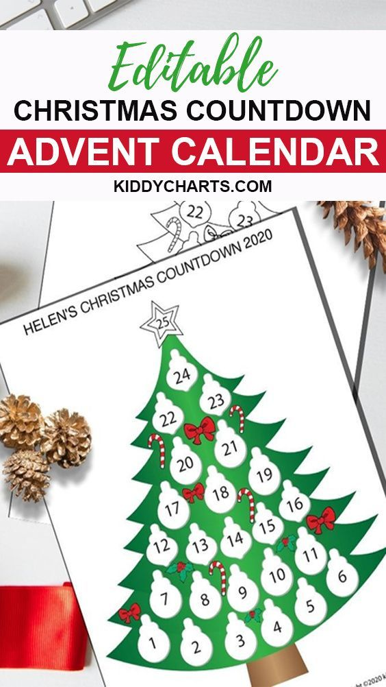 Calendar For Christmas Giant Advent Calendar Kiddycharts Com In 2020 Christmas Countdown Calendar Traditional Advent Calendar Christmas Advent Calendar