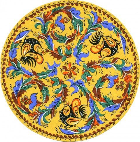 1000 images about russian folk crafts on pinterest folk for Folk art craft paint