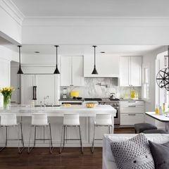 Kitchen Grey & Yellow