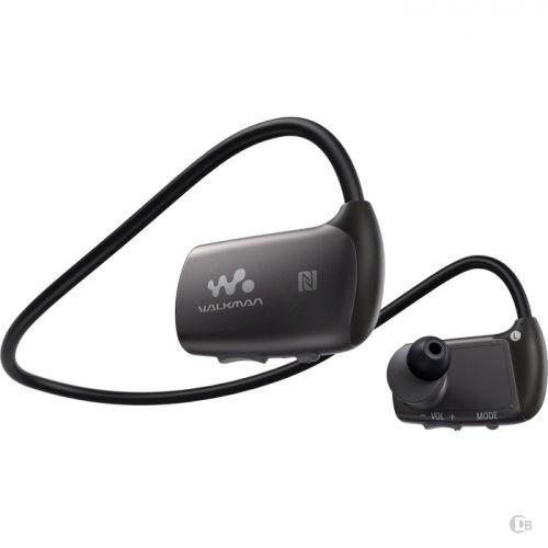New Sony 4GB Music underwater Sports Waterproof MP3 Player NWZ-WS613BLK Black #Sony