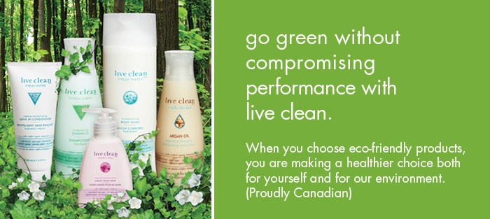 The Live Clean line is a safe way to eliminate harmful Parabens and SLS from your hair care.  The Argon Oil Shampoo is amazing on dandruff and dry itchy scalp in the dry Winter weather.