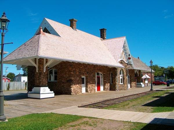 CNR Station, Kensington, PEI This station opened in 1905