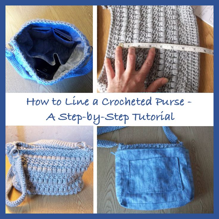 How To Make Crochet Bags Step By Step : handbag great detailed step by step picture tutorial tutorial make a ...