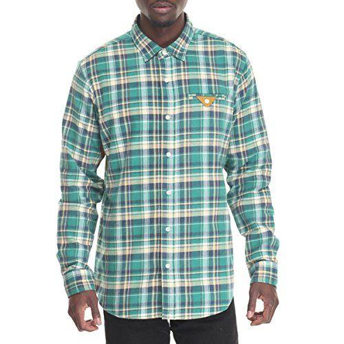 (アカプルコゴールド) Acapulco Gold メンズ トップス ボタンダウンシャツ camden flannel l/s button-down 並行輸入品  新品【取り寄せ商品のため、お届けまでに2週間前後かかります。】 カラー:Green 素材:100% Cotton