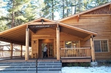 John Muir Lodge is our abode while in Sequoia National Park.