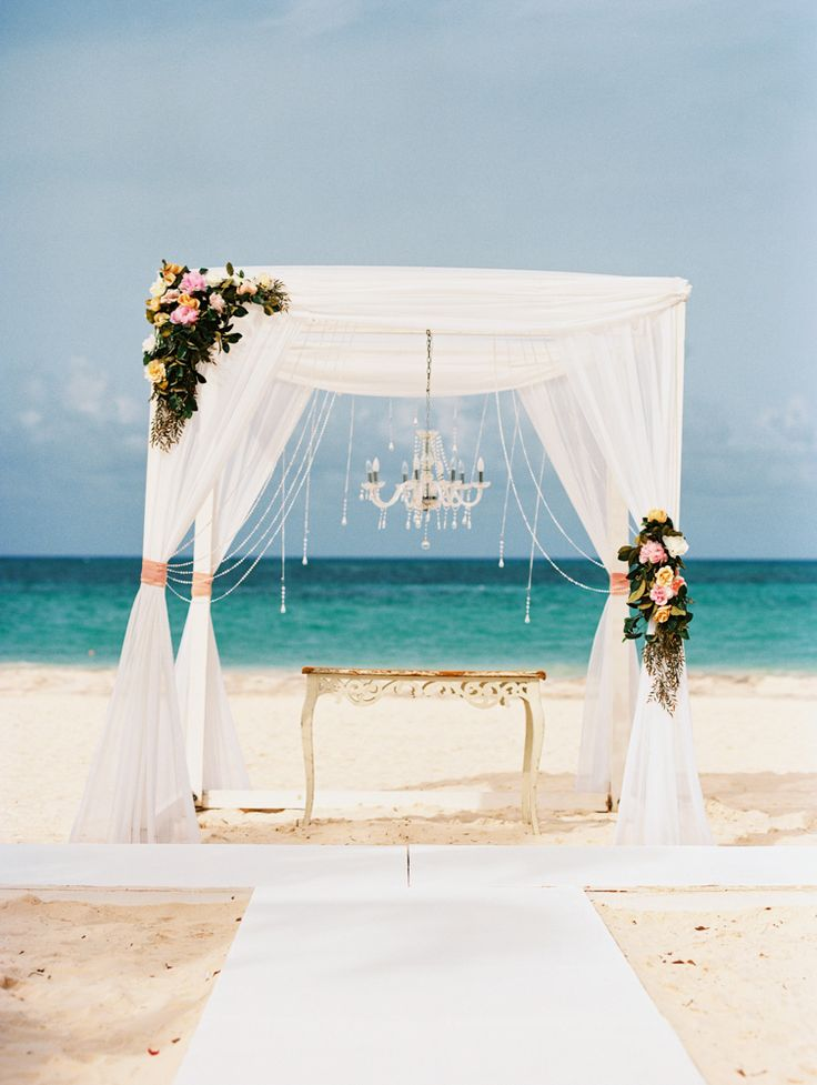 Romantic Destination Wedding in Huracan Cafe, Punta Cana,  Dominican Republic. Valentina and Dmitry!