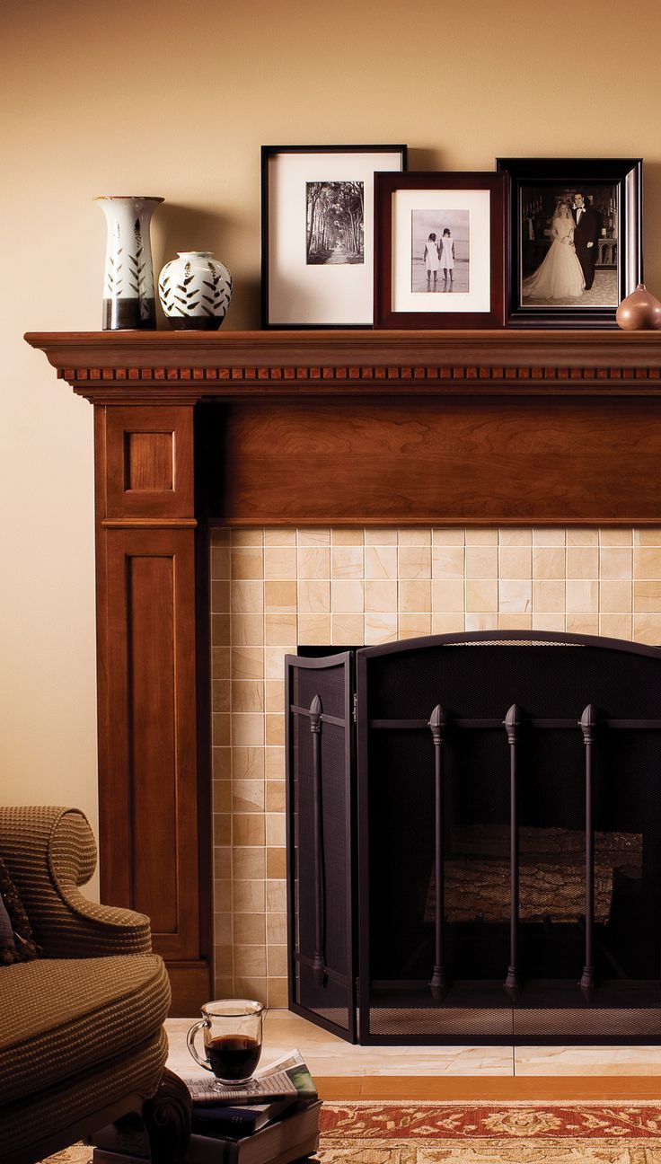 Create A Personalized Fireplace Mantle With Dura Supreme Select
