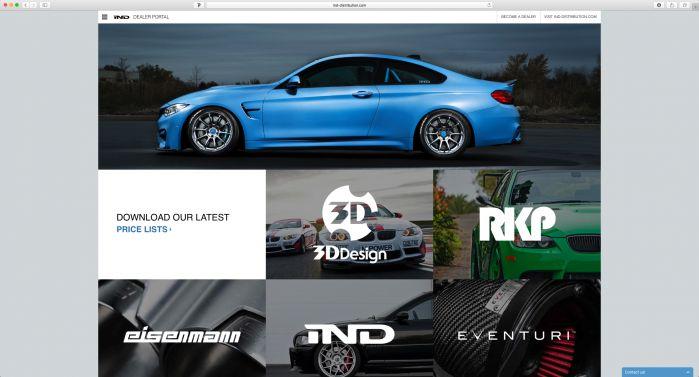 IND Dealer Portal Site Design