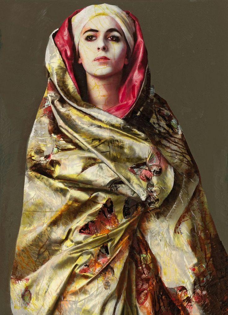 Lita Cabellut. Pintora española http://historiayarteamimanera.blogspot.com.es/2016/10/lita-cabellut-1961-sarinena-huesca.html